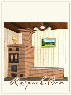 готовые проекты отопительно-варочных печей